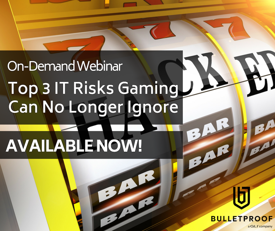 On-Demand Webinar:Top 3 IT Risks Gaming Can no Longer