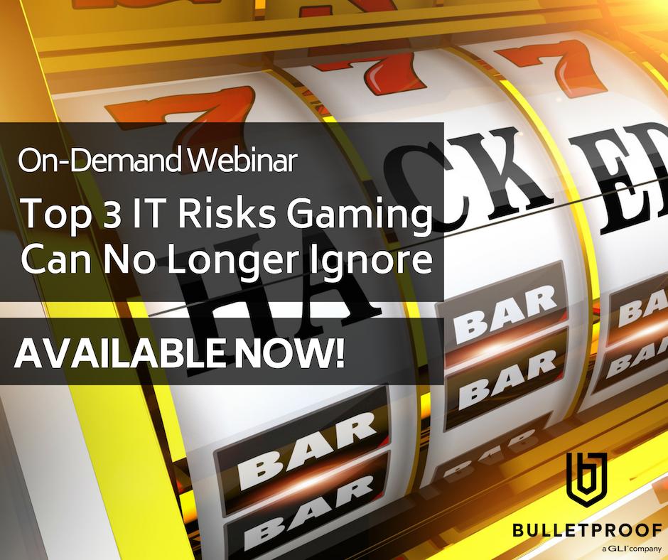 On-Demand Webinar:Top 3 IT Risks Gaming Can no Longer