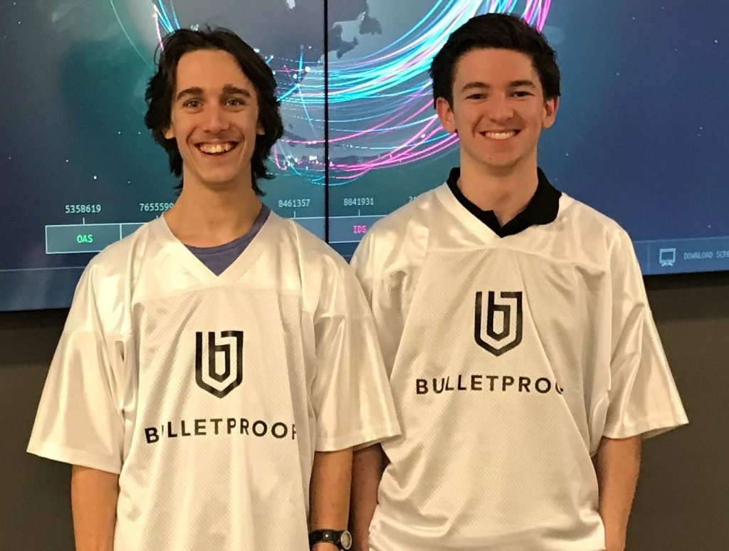 Bulletproof's SOC secures two young fresh faces to their cybersecurity team
