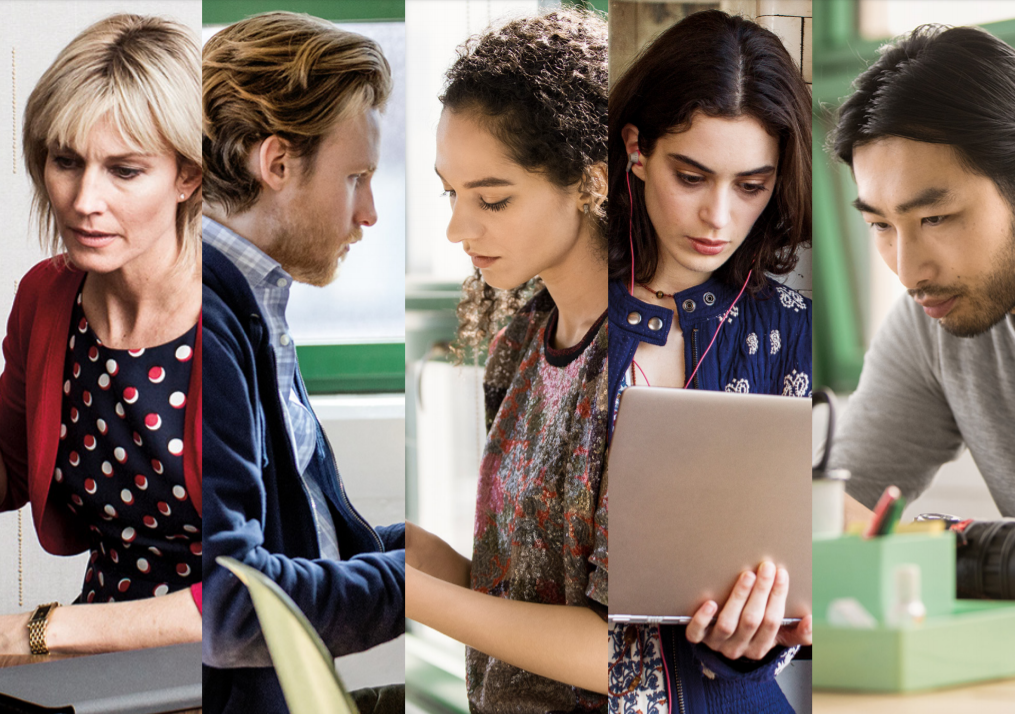 Microsoft Teams 5 Faces of employees ebook