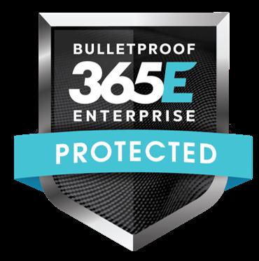 Bulletproof 365 Enterprise Badge