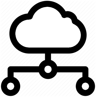 cloud tiered approach icon