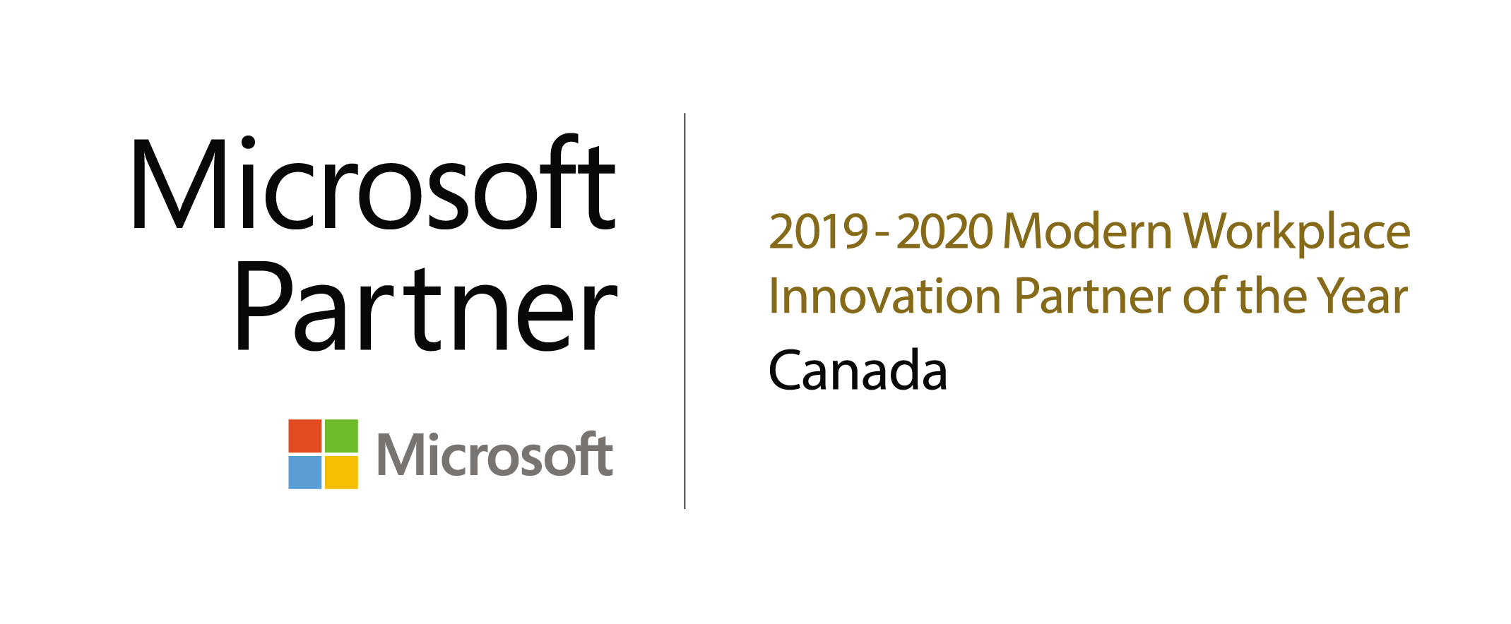 Bulletproof Microsoft IMPACT Award Winner 2019 and 2020 Logo