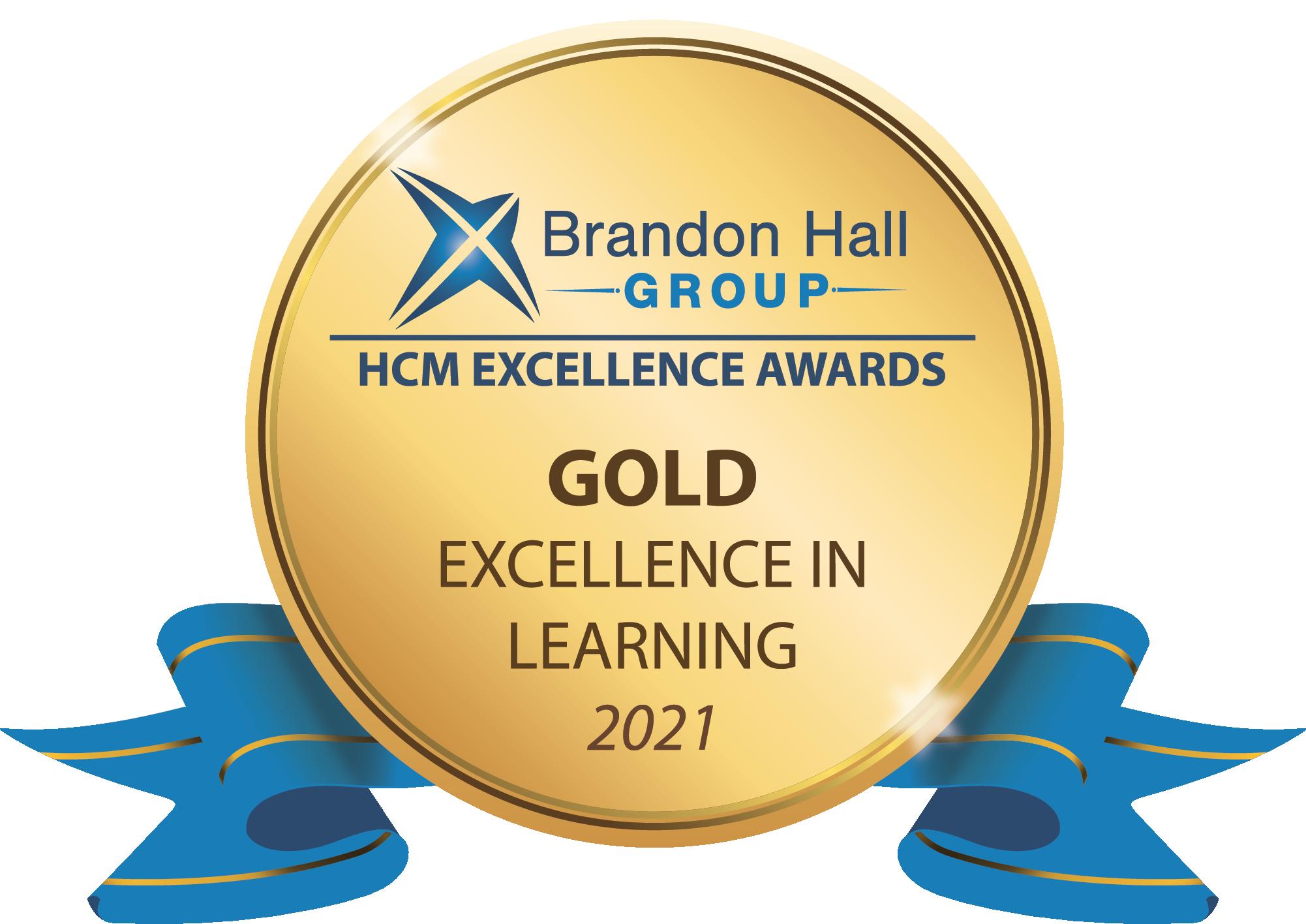 Brandon Hall Group Award Win - Bulletproof for eLearning